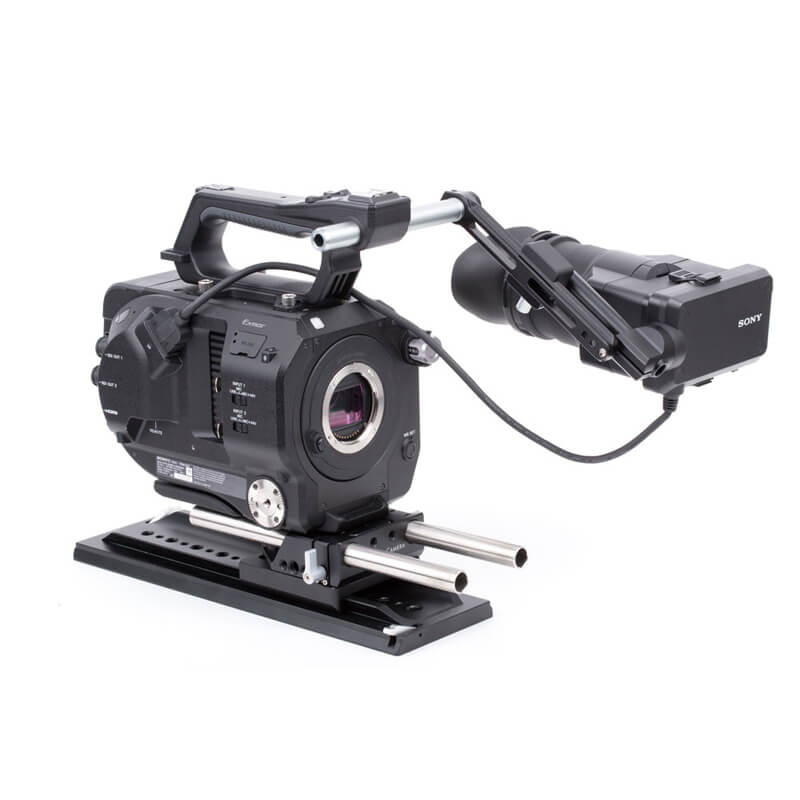 Wooden Camera UVF Mount (FS7, No Clamp)