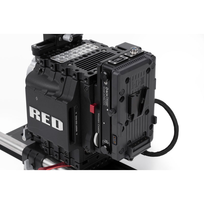 Wooden Camera D-Box (2pin LEMO Kit, D-Tap)