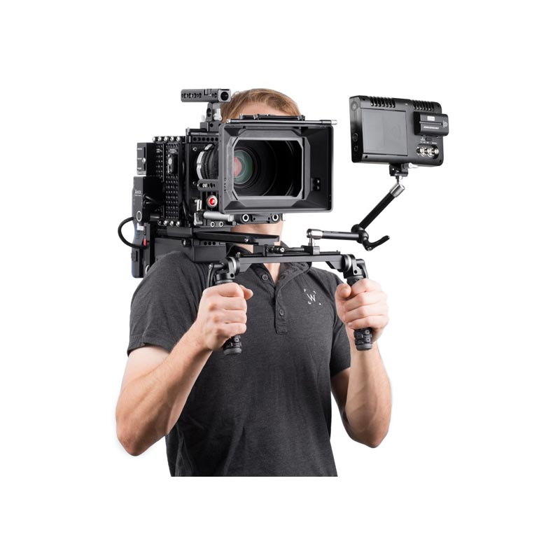 Wooden Camera Shoulder Rig v2 Black (Base)