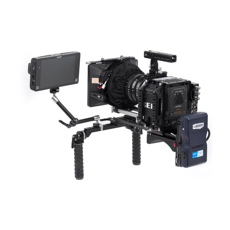 Wooden Camera Shoulder Rig v2 Rubber (Base)