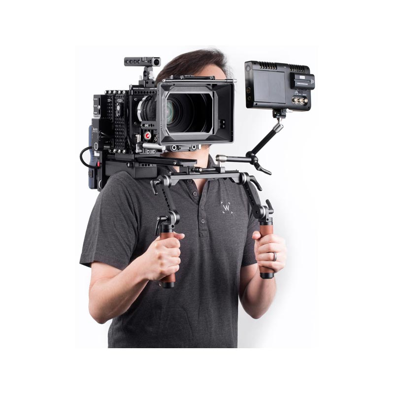 Wooden Camera Shoulder Rig v2 Rubber (Mid)