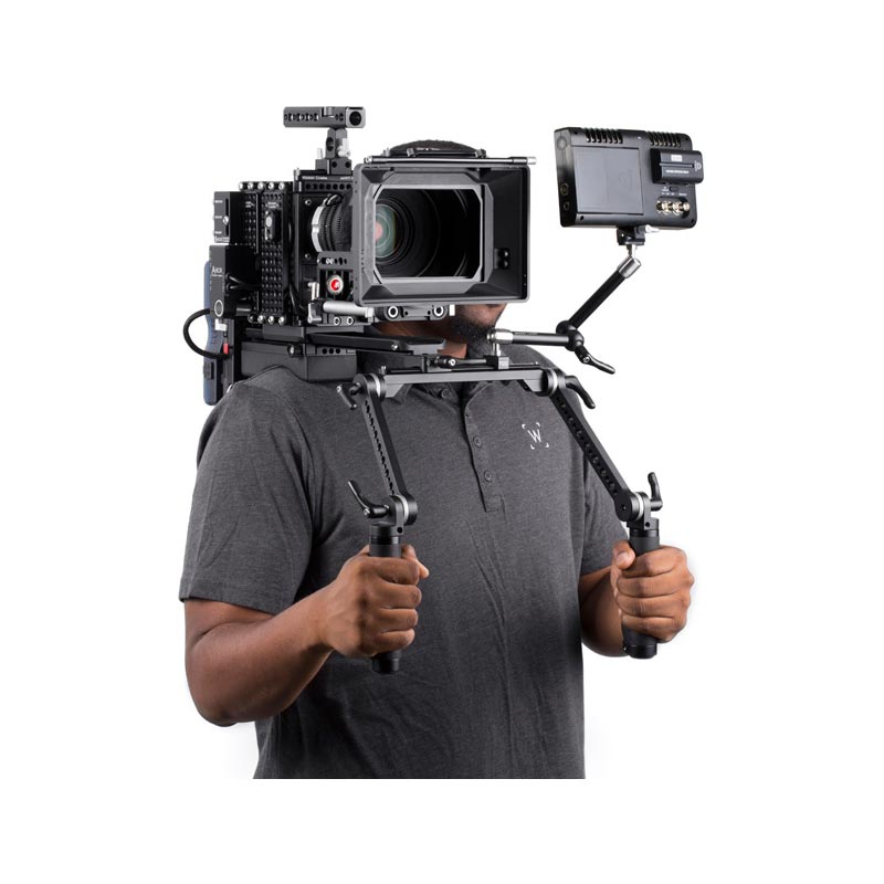 Wooden Camera Shoulder Rig v2 Black (Premium)