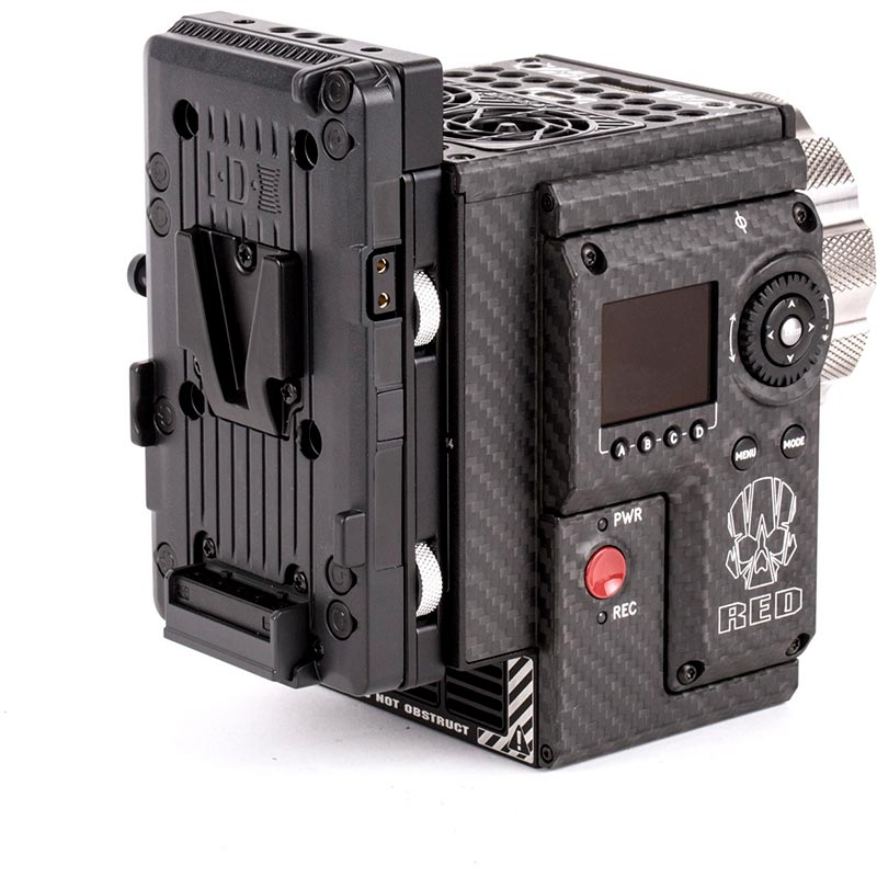 Wooden Camera Cable-less V-Mount (Weapon | Epic-W | Scarlet-W | Raven)