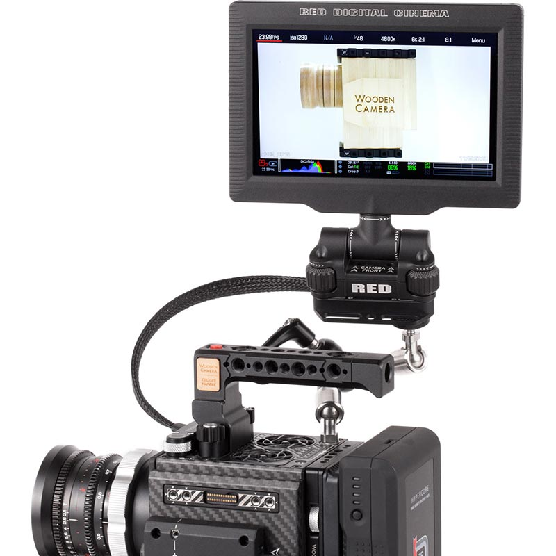 Wooden Camera RED Male Pogo to Female Pogo LCD | EVF Cable (12
