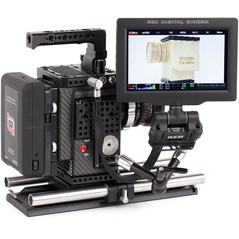 Wooden Camera RED Male LEMO to Female Pogo LCD | EVF Cable (12