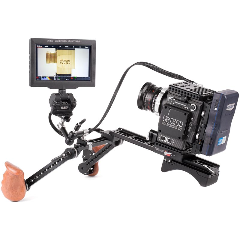 Wooden Camera RED Male LEMO to Female Pogo LCD | EVF Cable (24