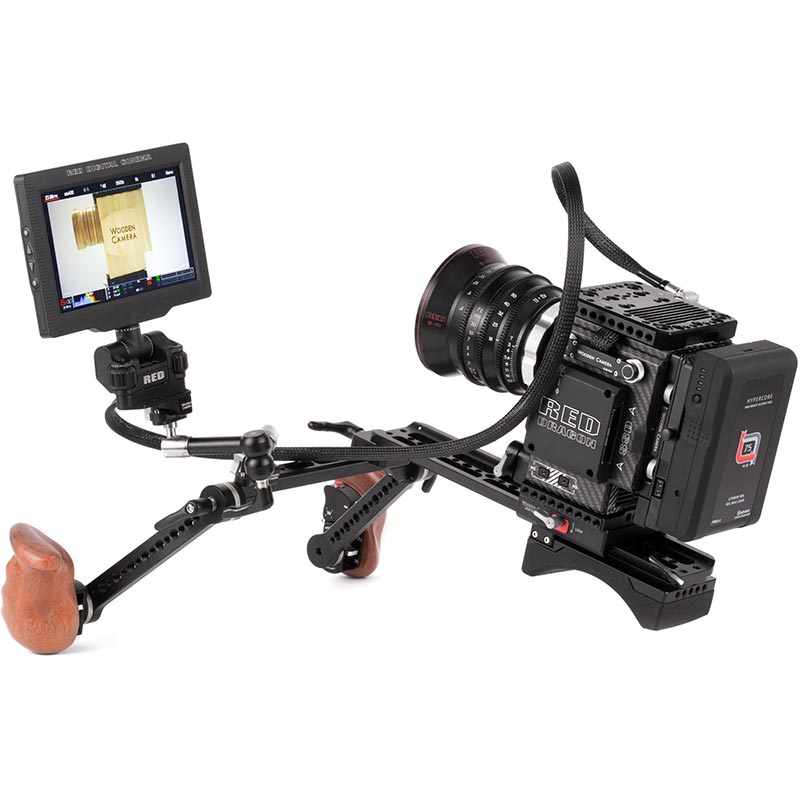 Wooden Camera RED Male LEMO to Female Pogo LCD | EVF Cable (36