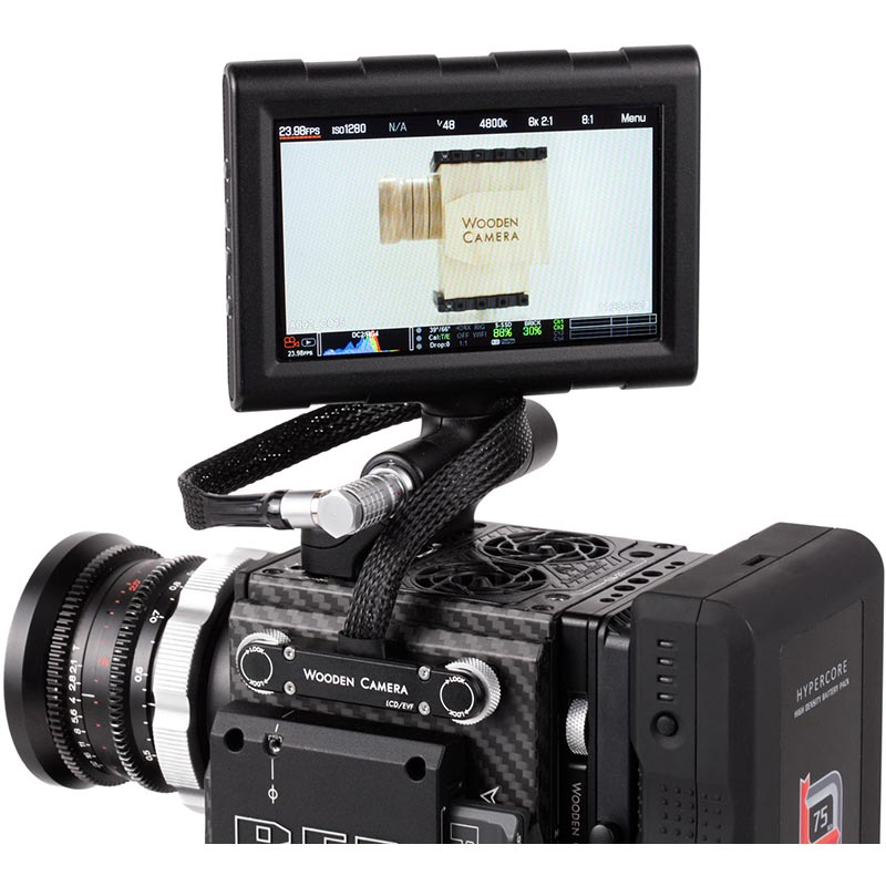 Wooden Camera RED Male Pogo to Male LEMO LCD | EVF Cable (12