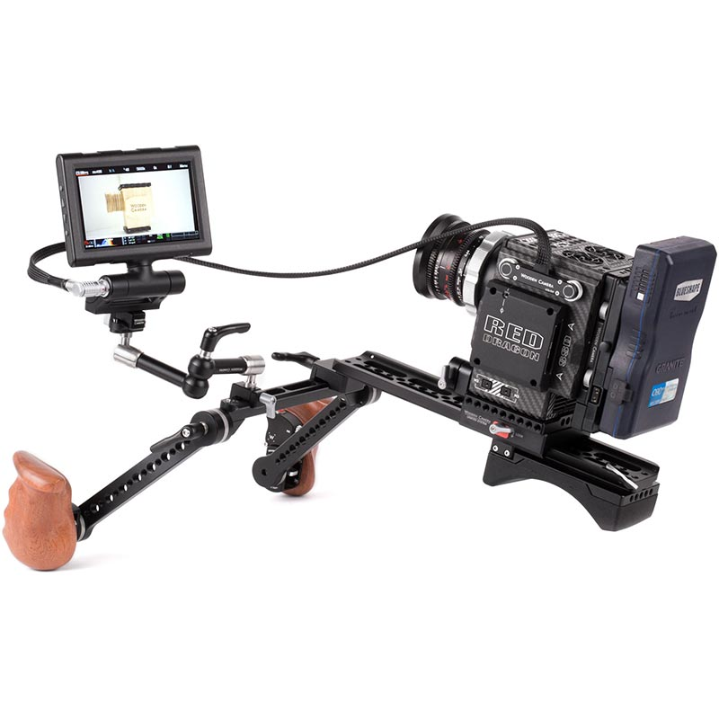Wooden Camera RED Male Pogo to Male LEMO LCD | EVF Cable (24