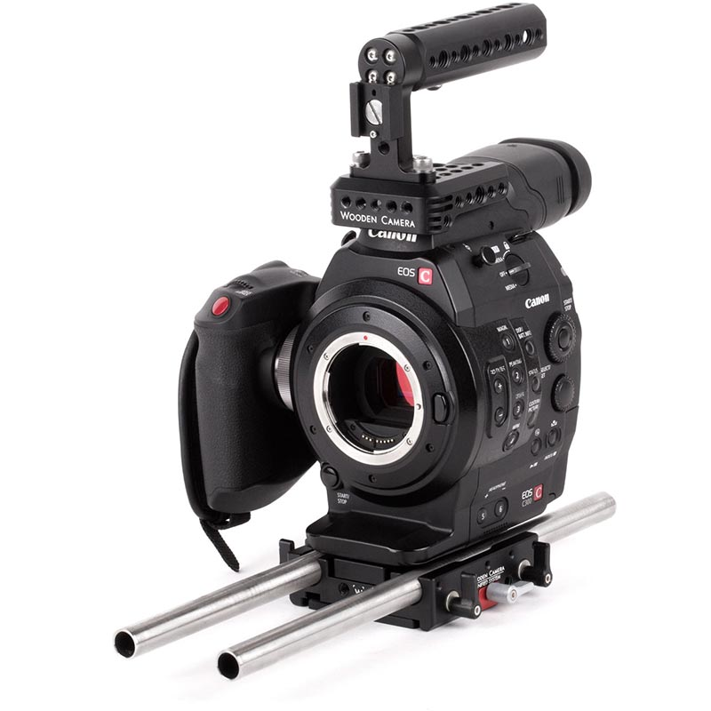 Wooden Camera Unified Baseplate (Sony FX9, FS7, FS7mkII, Canon C100mkII, C300mkII, C100, C300, C500)