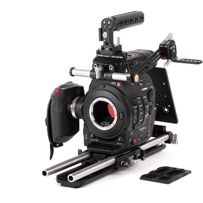 Wooden Camera Unified Baseplate (Sony FS7 | Canon C100MKII | C300MKII | C100 | C300 | C500)