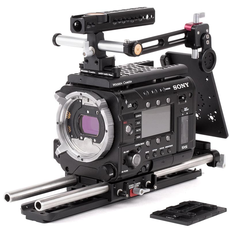 Wooden Camera Unified Baseplate (URSA Mini | Sony F55 | F5)