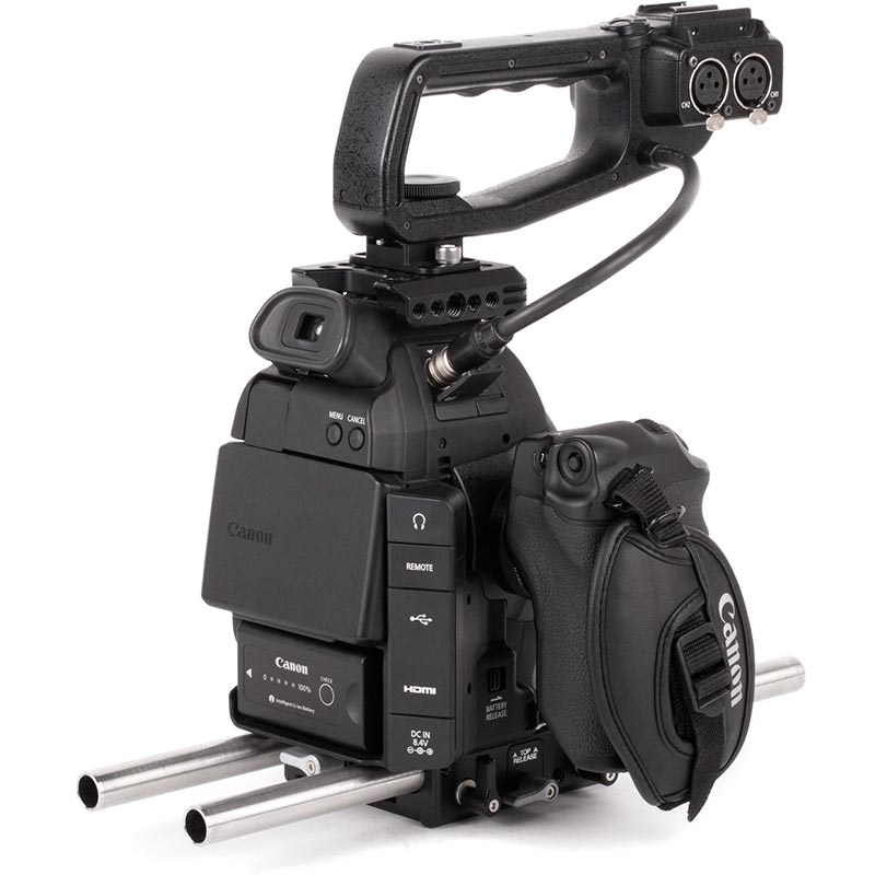 Wooden Camera Canon C100 Unified Accessory Kit Base