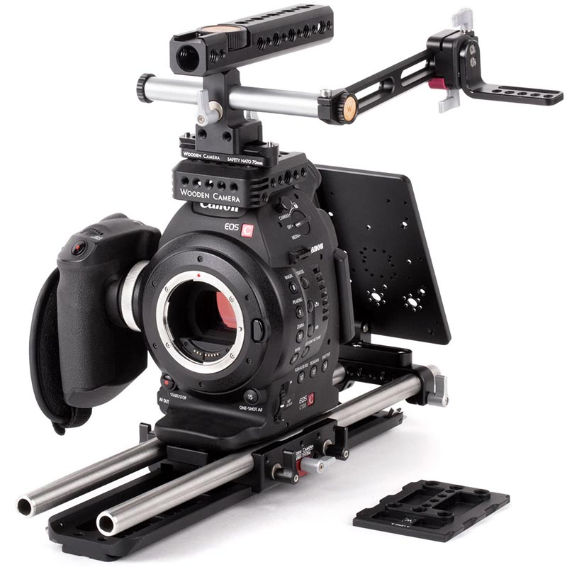 Wooden Camera Canon C100 Unified Accessory Kit (Pro)