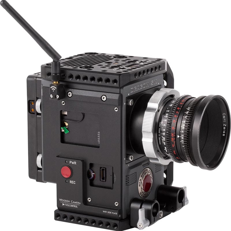 Wooden Camera WiFi Side Plate (Weapon | Epic-W | Scarlet-W | Raven)