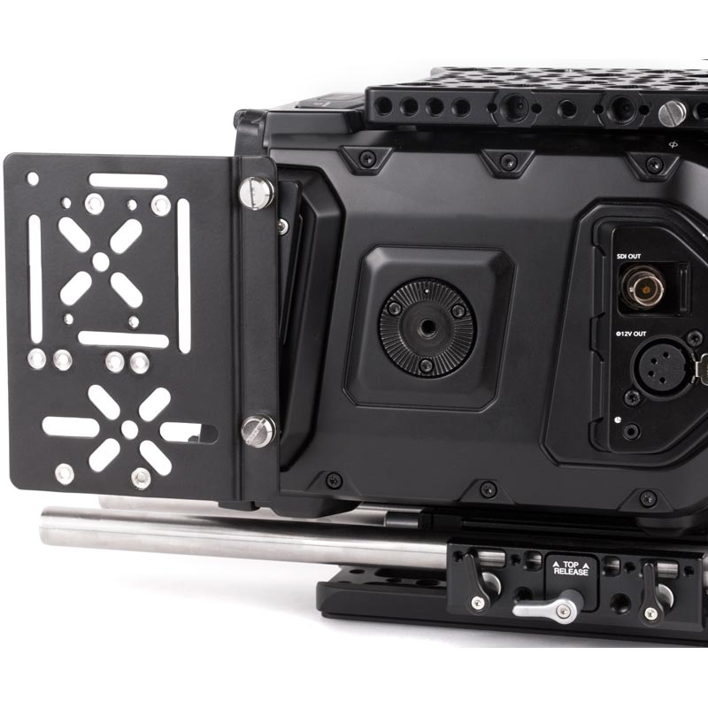Wooden Camera Wireless Side Plate Adapter (URSA Mini)