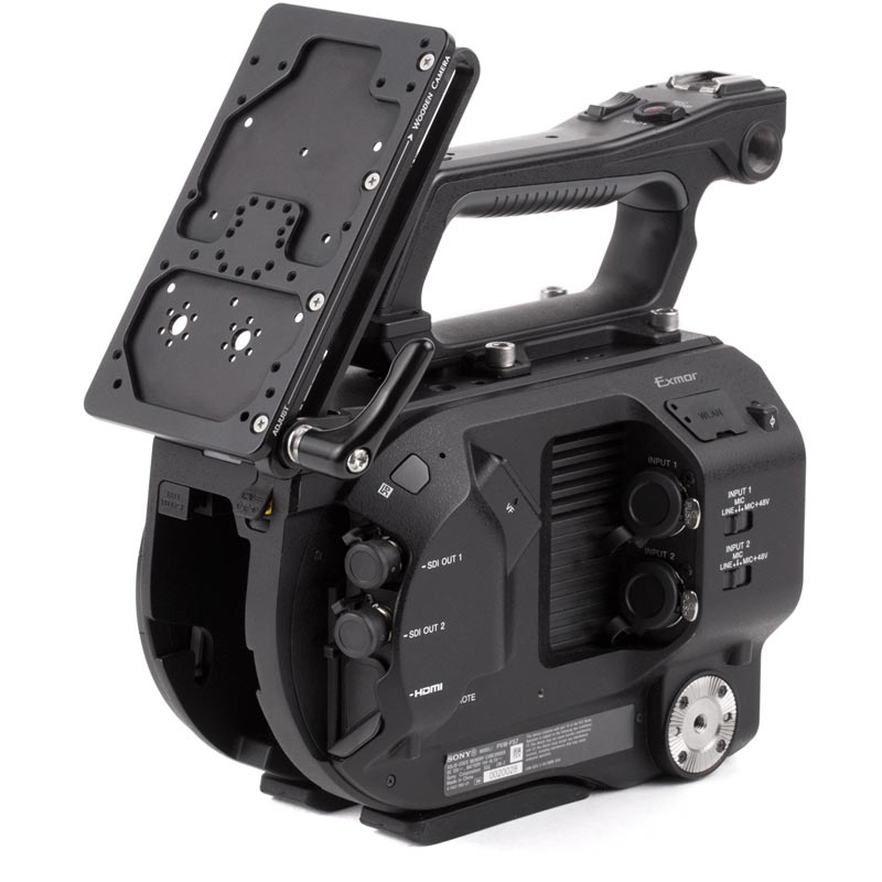 Wooden Camera Battery Slide (FS7)