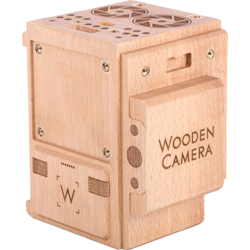 Wooden Camera Wood Weapon Model