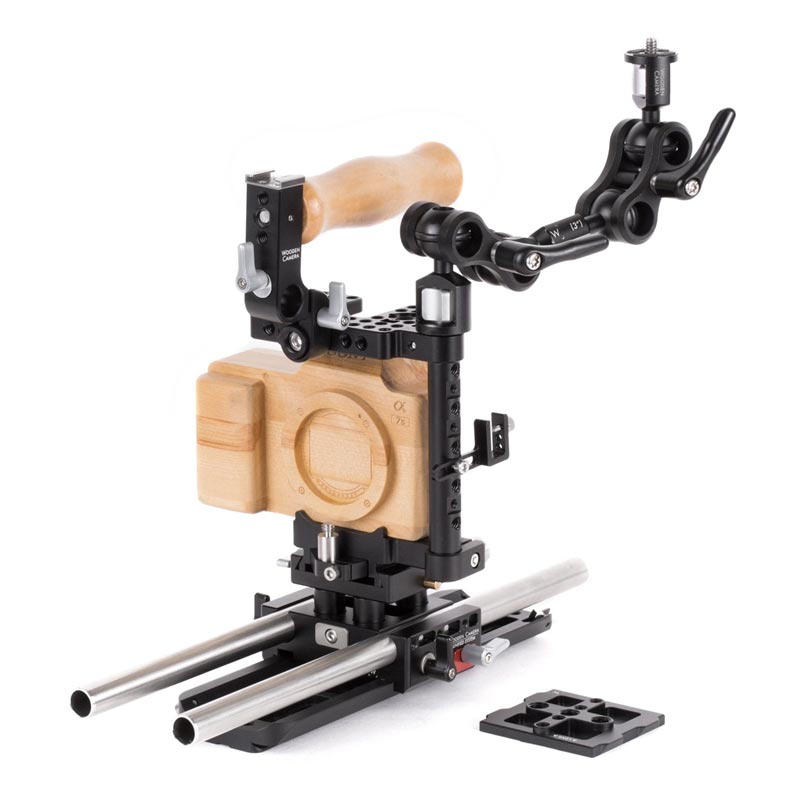 Wooden Camera Sony A7 | A9 Unified Accessory Kit (Advanced)