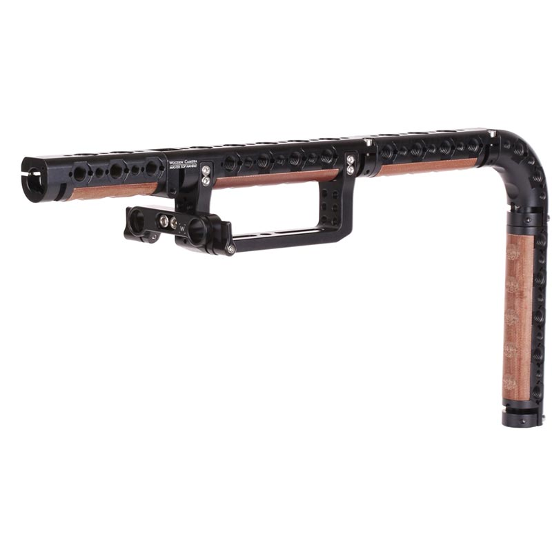 Wooden Camera Master Top Handle (Universal Center Screw Channel)