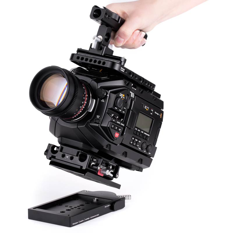Wooden Camera Touch and Go System (120mm Oconnor Euro, Sachtler 35, Ronford Baker RBQ Compatible)