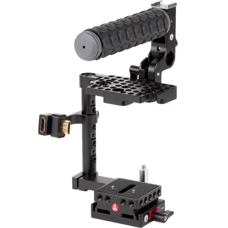 Wooden Camera Unified BMPCC4K / BMPCC6K Camera Cage (Blackmagic Pocket Cinema Camera 4K / 6K)
