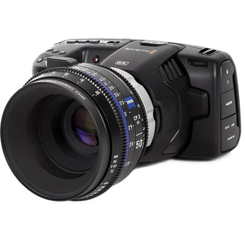 Wooden Camera Pl Mount Modification Kit Blackmagic Pocket Cinema Camera 6k Holdan Limited