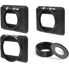 Wooden Camera Zip Box Kit 4x5.65 (80-85mm, 90-95mm, 110-115mm, Adapter Rings)