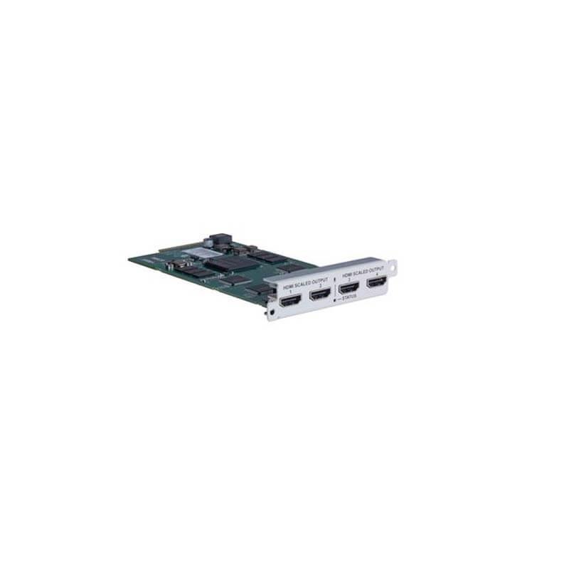 tvONE Quad HDMI Scaled corioMaster Output Module